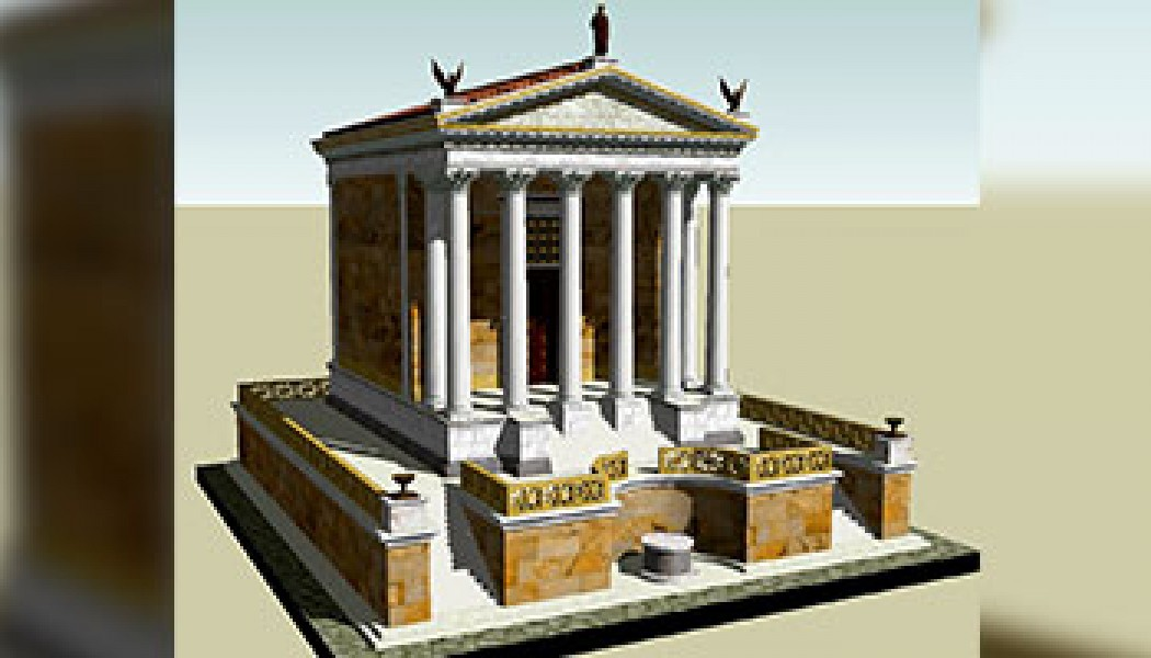 Temple of Divus Julius – August 18, 29 BC