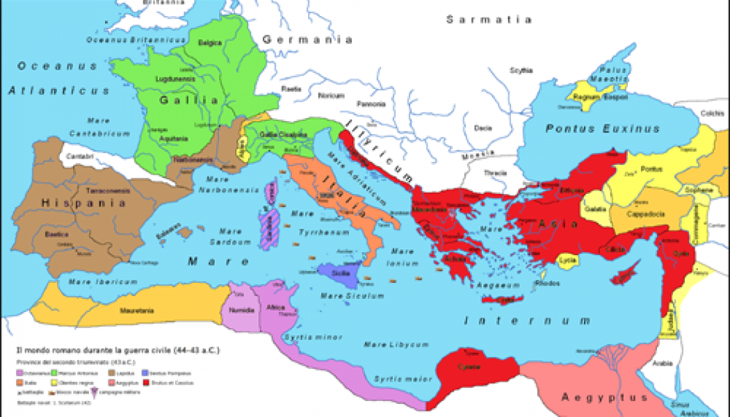 The Second Triumvirate – November 11, 43 BC