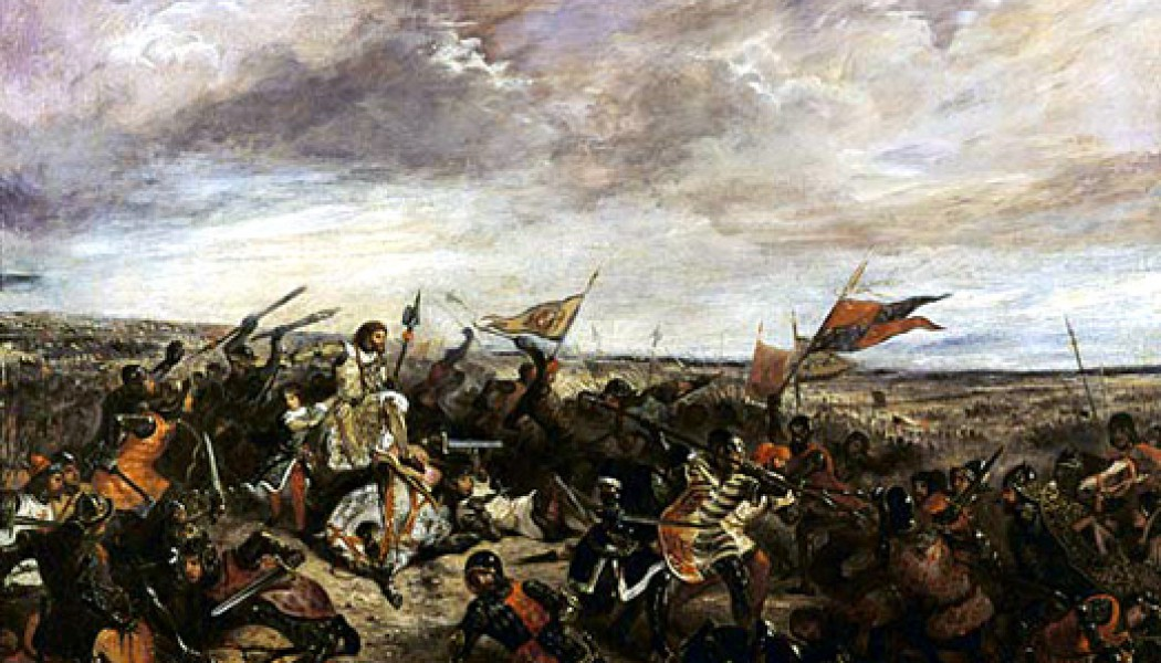 The Battle of Poitiers.   September 19, 1356.