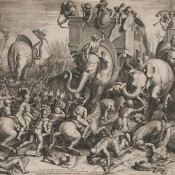 The Battle of Zama. October 19, 202 BC.
