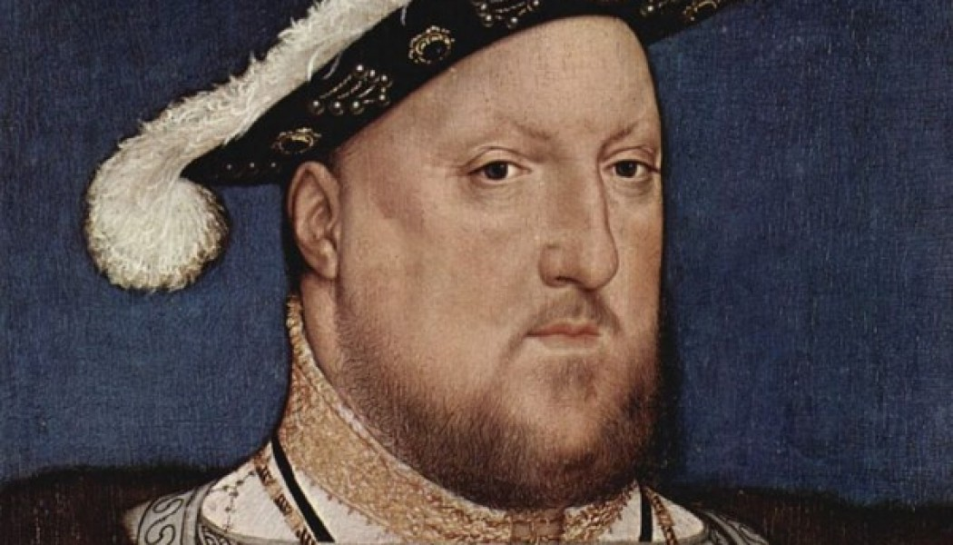 King Henry VIII, head of the Anglican Church. November 3, 1534.