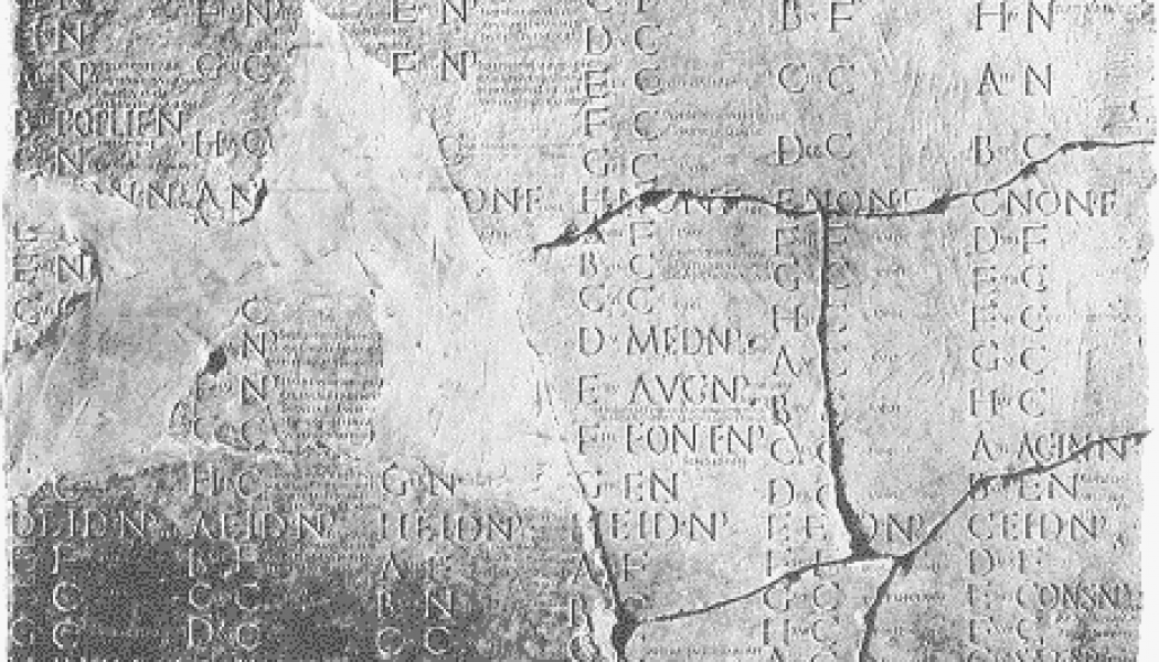 The Julian Calendar. January 1, 45 BC.