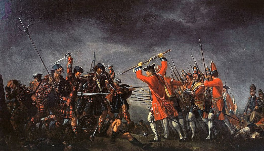 The Battle of Culloden. April 16, 1746.