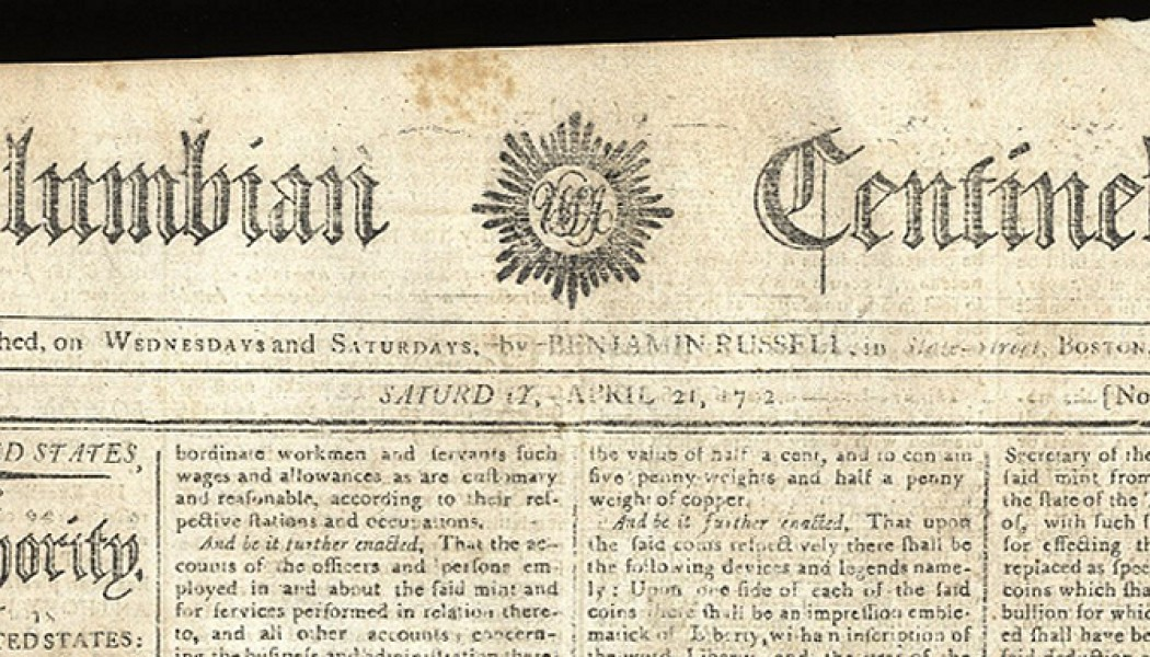 The Coinage Act. April, 2 1792.