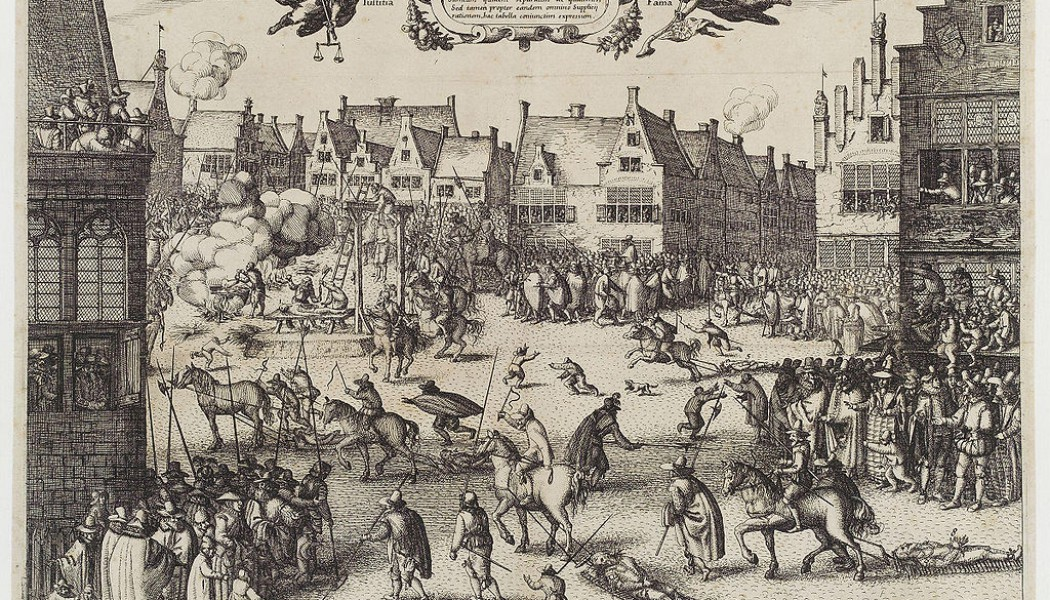 The Gunpowder Plot. November 5, 1604.