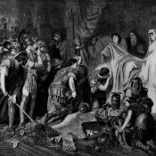 The death of Alexander. June 11, 323 BC.
