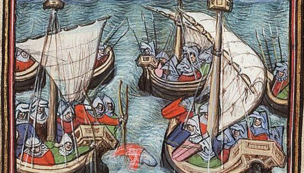 The Battle of Arnemuiden. September 23, 1338.