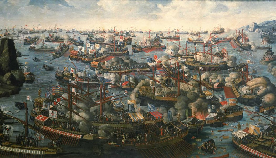The Battle of Lepanto. October 7, 1571.