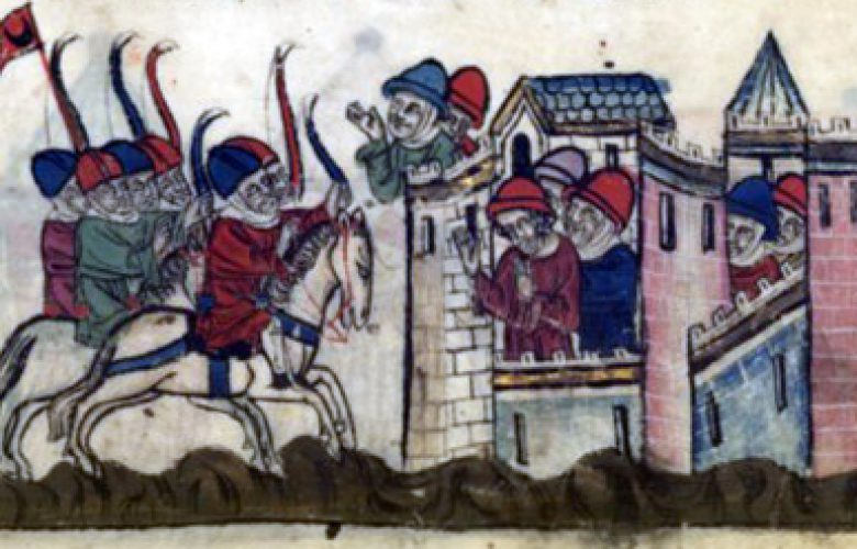 The Capture of Sidon. December 4, 1110.