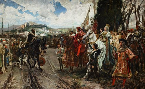 The Capitulation of Granada. January 6, 1492.