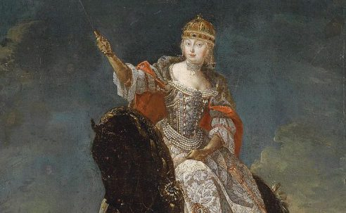 Maria Theresa, Queen. May 12, 1743.