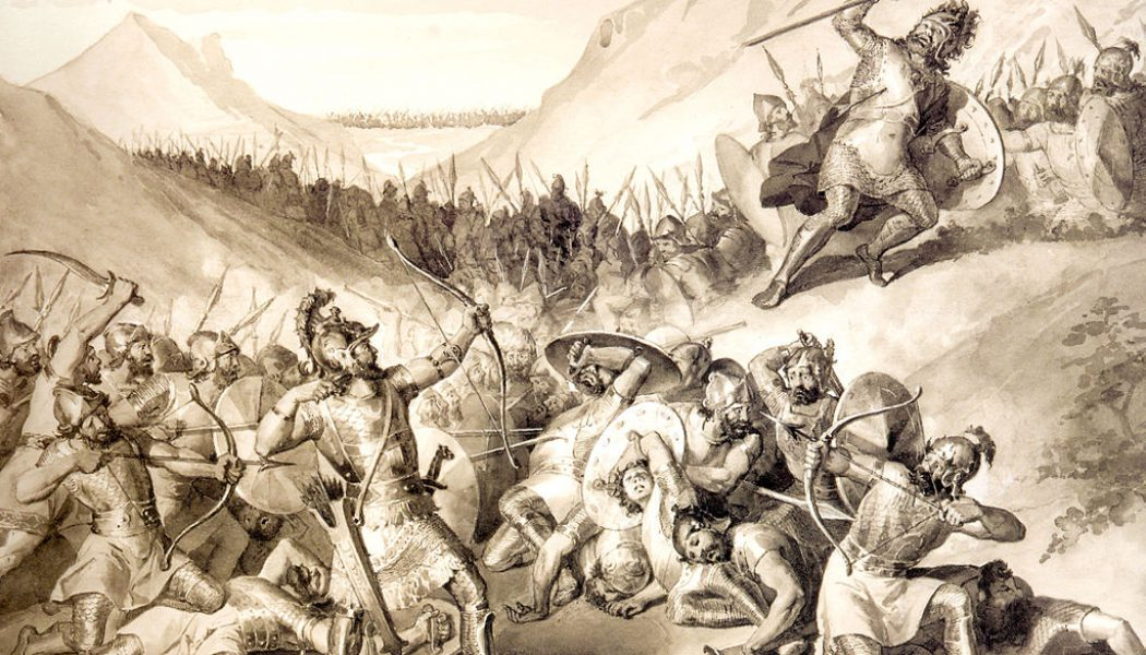 Hayk and Bel. August 11, 2492 BC.
