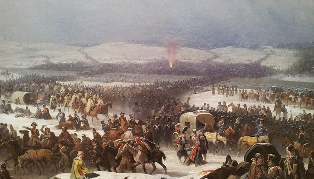 The Battle of Berezina. November 27, 1812.
