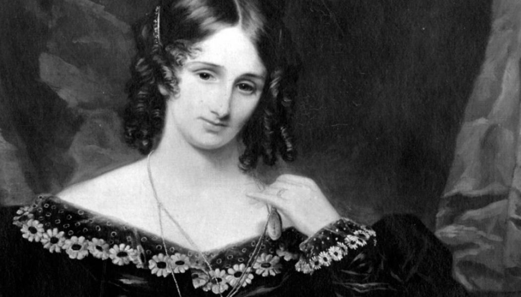 February 1, 1851. Mary Shelley.