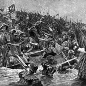 The Battle of Towton. March 29, 1461