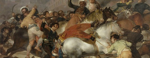 The Charge of the Mamelukes.  May 2, 1808.
