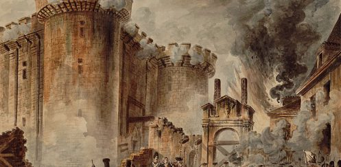 The Storming of the Bastille.  July 14, 1789.