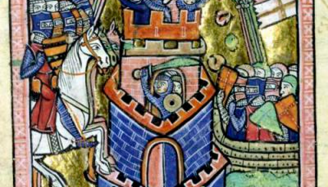 The city of Tyre falls to the Venetian Crusade.  July 7, 1124.