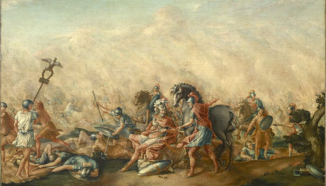 The Battle of Cannae. August 2, 216 BC.