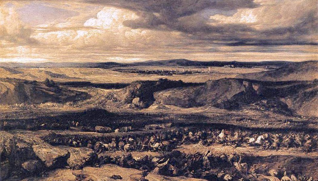 The Battle of Arausio. October 6, 105 BC.