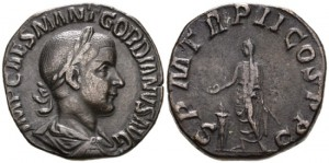 Gordian III. 238-244 AD. AE Sestertius (16.39 gm, 29mm). Rome mint, 6th officina. 3rd emission, 239 AD. RIC IV 271