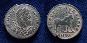 JULIAN II. AD 360-363. Æ (26.5MM, 8.4GR). ANTIOCH MINT.