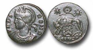ER365	- CONSTANTINIAN COMMEMORATIVE	ISSUE