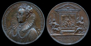 1731 GREAT BRITAIN – QUEEN ELIZABETH I BY JEAN DASSIER
