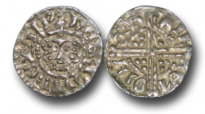 ENGLAND, Henry III (1216-1272), Penny, 1.42g., Voided Long Cross Coinage, Class 3c, (1248-1250), Willem – Northampton