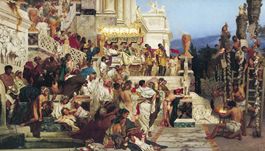 Great Fire in Rome – July 18/19, 64 AD