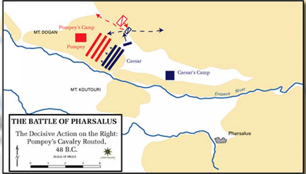 Battle of Pharsalus – August 8, 48 BC