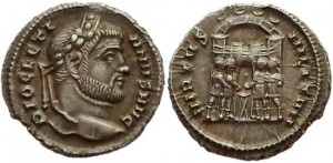 Diocletian, 294-295 AD.
