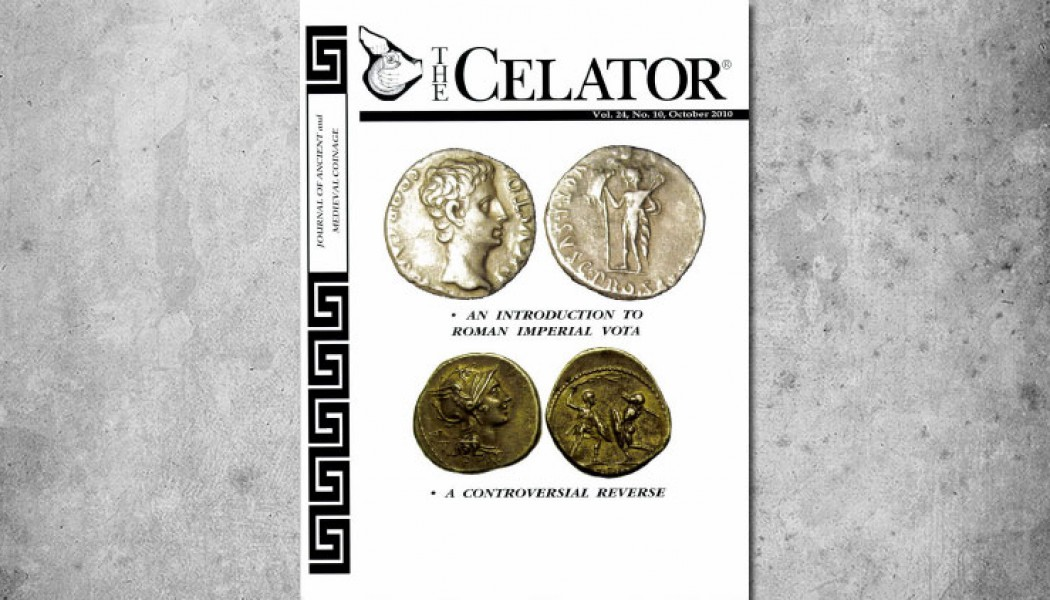The Celator – Vol.24 No.10