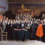 The Peace of Westphalia. October 24, 1648.