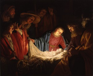 800px-Gerard_van_Honthorst_-_Adoration_of_the_Shepherds_(1622)