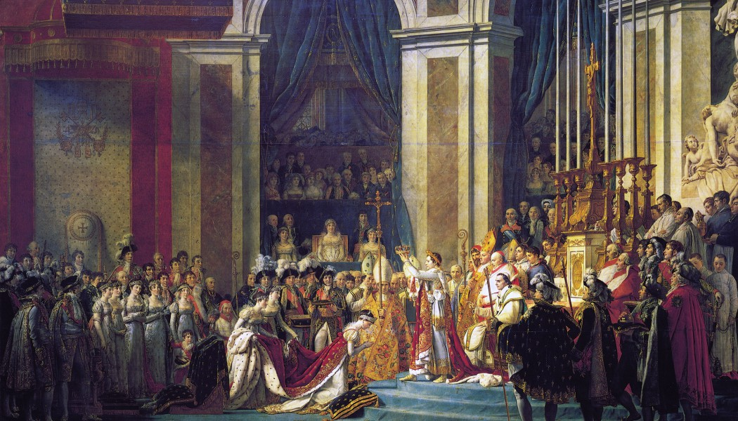 Napoleon crowns himself French Emperor. December 1, 1804.