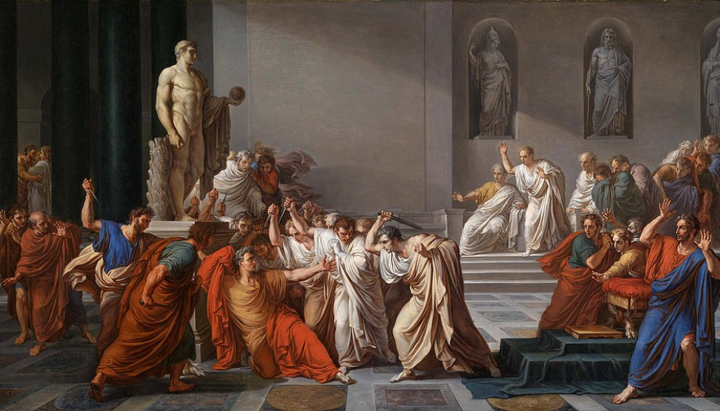 Beware the Ides of March. March 15, 44 BC.