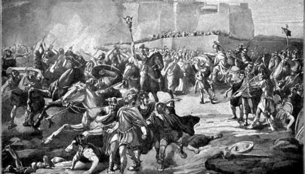 The End of the First Siege of Rome. 12 March 538 AD.