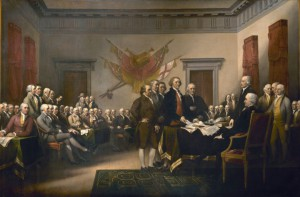 The Declaration of Independence. July 4, 1776.