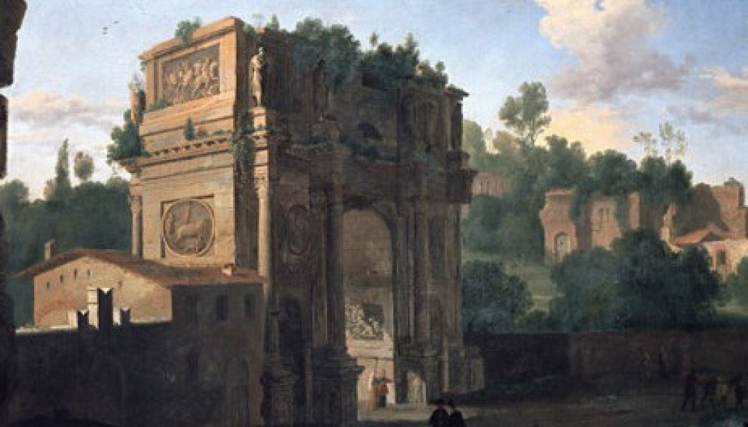 The Arch of Constantine. July 25, 315.
