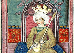 "Mary, ""king"" of Hungary. September 17, 1382."