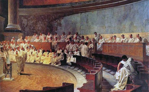 Fourth and final Catiline Oration. December 5, 63 BC.