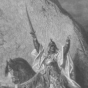 Saladin in Egypt. March, 26 1169.