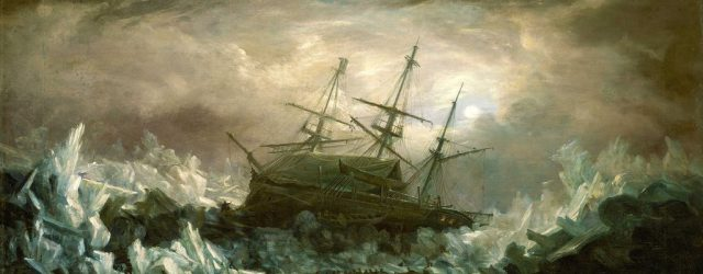First evidence of HMS Erebus found. August 15, 1855.