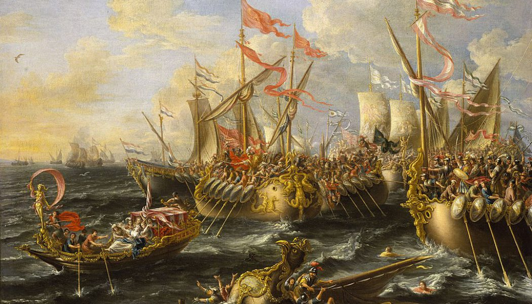 The Battle of Actium. September 2, 31 BC.