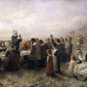 Thanksgiving Day. November 26, 1789.