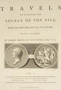 The Source of the Nile. November 14, 1770.