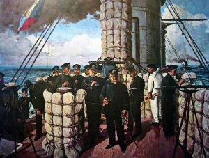 The Battle of Tsushima. May 27, 1905.