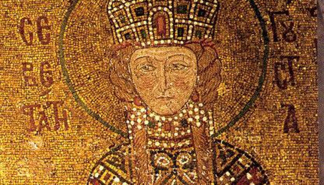 Empress Irene of Athens.  April 19, 797.