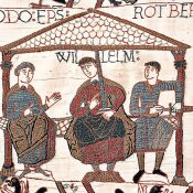 The beginning of the Norman conquest of England. September 27, 1066.